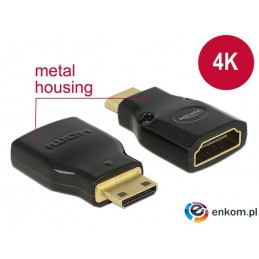 Adapter Delock HDMI (F) -  mini HDMI-C (M) 4K