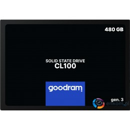 SSD GOODRAM CL100 Gen. 3 480GB SATA III 2,5 RETAIL