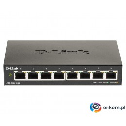 "D-Link DGS-1100-08V2/E ""8-Port Gigabit Smart Manage"