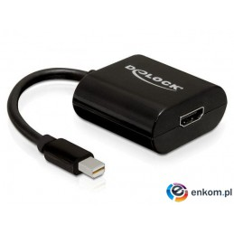 Adapter Delock DisplayPort Mini(M)- HDMI(F) 0,18m