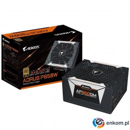 Zasilacz Gigabyte AORUS GP-AP850GM 850W 135mm 80+Gold