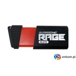 Pendrive Patriot Memory Rage Elite PEF128GSRE3USB (128GB  USB 3.1  kolor czarny)