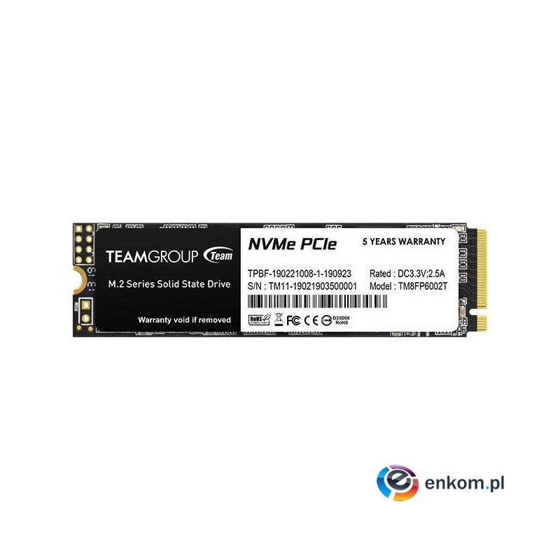 SSD Team Group MP33 256GB M2 PCI-E Gen3x4