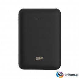 PowerBank Silicon Power Cell C100 SP10KMAPBK100CPK (10000mAh  Micro USB typ B  kolor czarny)