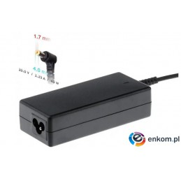 Zasilacz sieciowy Akyga AK-ND-50 do notebooka IBM, Lenovo (20 V  2,25 A  45W  4 mm x 1.7 mm)