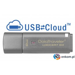 Pendrive Kingston DTLPG3/8GB (8GB  USB 3.0  kolor szary)
