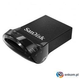 Pendrive SanDisk Ultra Fit SDCZ430-064G-G46 (64GB  USB 3.1  kolor czarny)