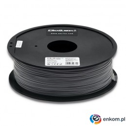 Filament Qoltec do druku 3D | PLA PRO | 1,75mm | 1kg | Grey