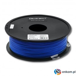 Filament Qoltec do druku 3D | PLA PRO | 1,75mm | 1kg | Blue