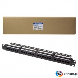 "Patch panel LogiLink NP0004A 19"" 24x RJ45 kat.6 UTP"