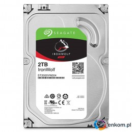 Dysk SEAGATE IronWolf™ 2TB ST2000VN004 5900 64MB SATA III NAS