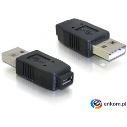 Adapter Delock USB AM- USB Micro BF (USB 2.0)
