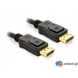 Kabel Delock DisplayPort M/M 2m gold