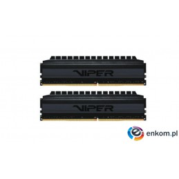 Pamięć DDR4 Patriot Viper 4 Blackout 32GB (2x16GB) 3600 MHz CL18 1,35V
