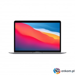 Apple 13-inch MacBook Air: M1 chip with 8-core CPU and 7-core GPU, 256GB - Space Gray