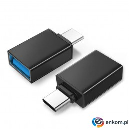 Adapter OTG Maclean MCE470 USB A do USB C