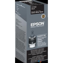 Tusz Epson Black 140 ml (T7741) do WorkForce M100/105/200
