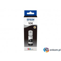 Tusz Epson 106 EcoTank Photo Black 70ml (C13T00R140)