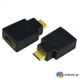 Adapter HDMI LogiLink AH0009 HDMI (F)   mini HDMI (M)