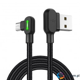 Kabel Mcdodo BUTTOM CA-5771 (USB - Micro USB   1,2m  kolor czarny)