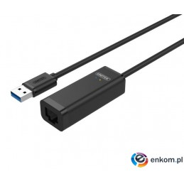 Kabel adapter Unitek Y-1468 USB2.0 - Fast Ethernet