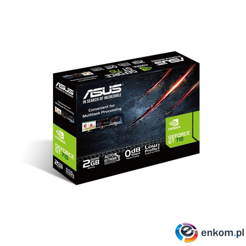 Karta graficzna  ASUS GeForce GT 710 2GB DDR5 low p