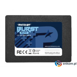 Dysk SSD PATRIOT BURST ELITE 480GB SATA 3 2.5INCH