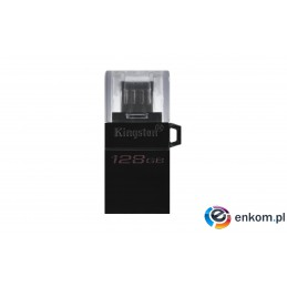 KINGSTON FLASH 128GB DataTraveler MicroDuo 3 Gen2 + microUSB (Android/OTG)