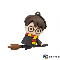 Pendrive Tribe Harry Potter latający na miotle 32GB USB 2.0