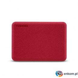 HDD TOSHIBA CANVIO ADVENCE 2TB USB 3.2 RED