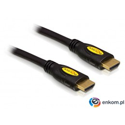 Kabel Delock HDMI-HDMI High Speed ETH. 5m