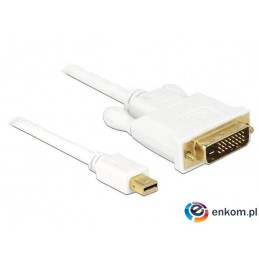 Kabel Delock DisplayPort MINI M-  DVI-I M 1m