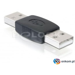 Adapter Delock USB AM -  USB AM beczka