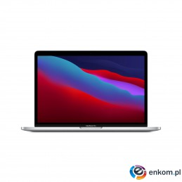 Apple 13-inch MacBook Pro: Apple M1 chip with 8-core CPU and 8-core GPU, 512GB SSD - Silver