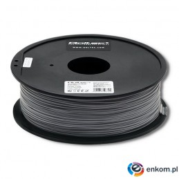 Filament Qoltec do druku 3D | ABS PRO | 1,75mm | 1kg | Grey