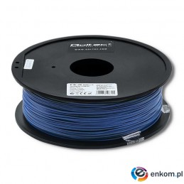 Filament Qoltec do druku 3D | ABS PRO | 1,75mm | 1kg | Blue