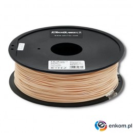 Filament Qoltec do druku 3D | ABS PRO | 1,75mm | 1kg | Skin