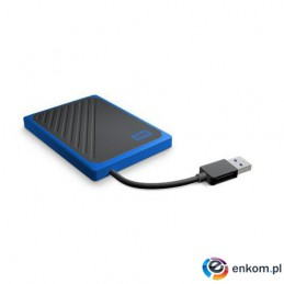 SSD WD MY PASSPORT GO 500GB USB 3.0 Niebieski