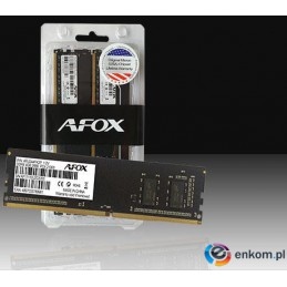 AFOX DDR4 2X8GB 3000MHZ MICRON CHIP CL16 XMP2 AFLD416LH1CD
