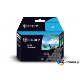 Tusz INCORE do HP 652Bk (F6V25AE) Black 23ml reg.