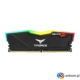 Pamięć DDR4 Team Group Delta RGB 8GB (1x8GB) 3000MHz CL16 1,35V Black