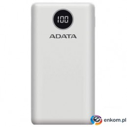 ADATA Powerbank P20000QCD White