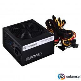 Zasilacz Thermaltake Litepower II Black 550W PS-LTP-0550NPCNEU-2 (Aktywne  120 mm)