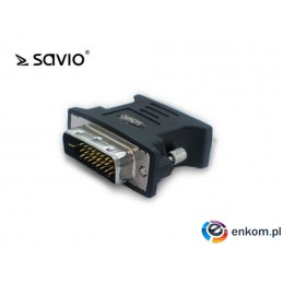 Adapter VGA - DVI Savio CL-25