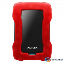 ADATA Durable Lite HD330 1TB 2.5'' USB3.1 Red