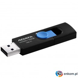 ADATA FLASHDRIVE UV320 128GB USB3.1 Black-Blue
