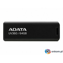 ADATA FLASHDRIVE UV360 64GB USB3.2 Black