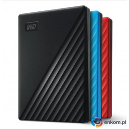 Dysk WD My Passport 4TB USB 3.0 red