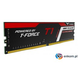 Pamięć DDR4 Team Group T-FORCE T1 16GB (2x8GB) 3000MHz CL16 1,35V Black