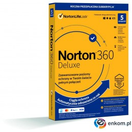 Norton 360 Deluxe 5D/12M BOX - WYMAGA KARTY